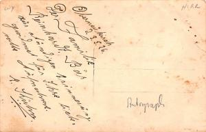 Circus Acts Post Cards Phanon E. Kuhn Trapeze Writing on back
