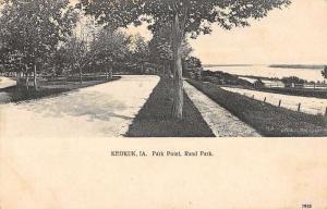 Keokuk Iowa Rand Park Point Antique Postcard K78641