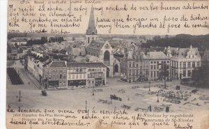 ST.NICOLAS, France, PU-1908; Panorama De St. Nicolas
