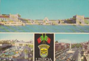 Portugal Lisboa Multi View 1970