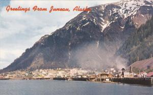 Panorama, Situated On Gastineau Channel, Greetings From JUNEAU, Alaska, 1940-...