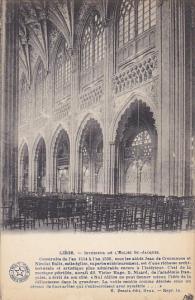 Belgium Liege Interieure de L'Eglise St Jacques