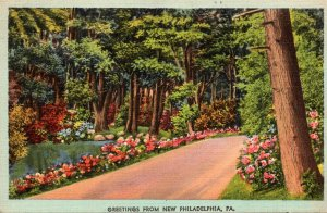 Pennsylvania Greetings From New Philadelphia 1943