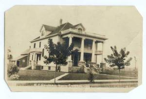 RPPC of M.C. Howard Residence Cameron Wisconsin WI