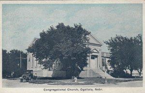 OGALLALA , Nebraska,1910s ; Congregational Church