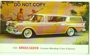 1959 Ambassador Custom Hardtop Cross Country