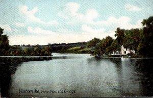 Maine Warren View From The Bridge