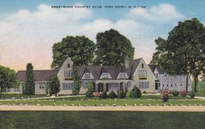 HIGH POINT, North Carolina, 1930-1940's; Emerywood Country Club