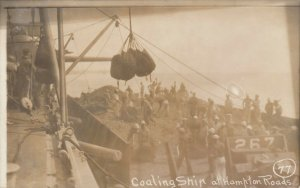 RP: HAMPTON ROADS , NORFOLK, Virginia , 00-10s ; Coaling Ship