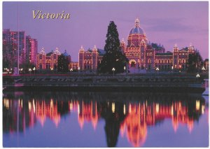 Canada, Victoria, British Columbia.  Legislative Bldgs, Inner Harbour.   Unused