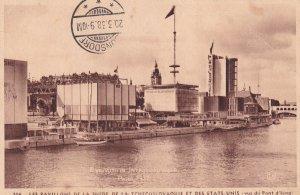 PARIS, France, PU-1938; Exposition Internationale, Les Pavillons De La Suede,...