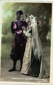 CPA Ferreale & Edmée Favart, THEATER STAR (715956)