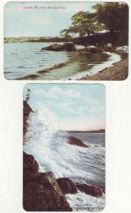 P345 JLs 1907 postcard camden main dyce,s head, sherman point