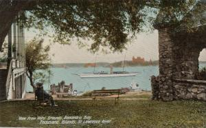 1000 Islands, Ontario , 1909 ; Hotel Grounds , Alexander Bay , St Lawrence River