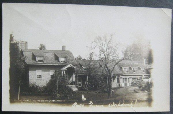 Page Residence Oakland Maine Real Photo Post Card