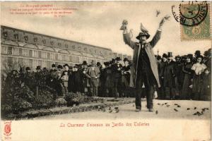 CPA PARIS (1e) Le Charmeur d'Oiseaux au Jardin des Tuileries. (562657)