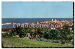 Postcard Antibes Old City View And The Port