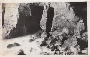 RP: LA JOLLA , California , 1920-40s; Interior of La Jolla Caves