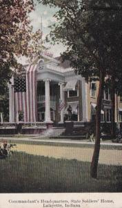 Indiana Lafayette State Soldiers' Home Commandant's Headquarters 1911
