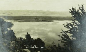 C.1910-20 RPPC Mona Lake California Vintage Postcard P101