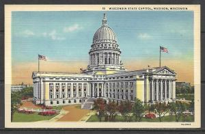 Wisconsin, Madison - State Capitol