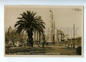 192197 ARGENTINA BUENOS AIRES Plaza britanica Vintage postcard