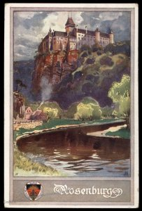 Austria Rosenburg Castle WWI German Unification DSV Patriotic Postcard UNU 98826