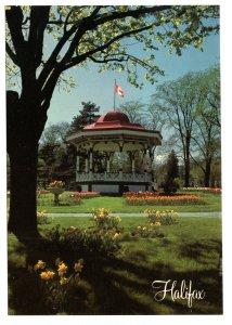 Large 5 X 7 in, Band Stand, Public Gardens Halifax, Nova Scotia