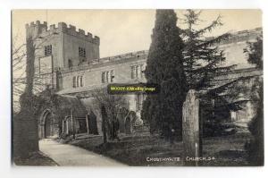 cu0238 - Crosthwaite Church , Cumbria - postcard