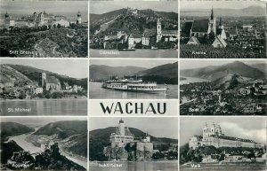 Austria Wachau multi views postcard
