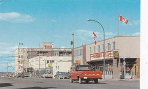 Downtown Street view, Yellowknife , N.W.T. , 50-60s
