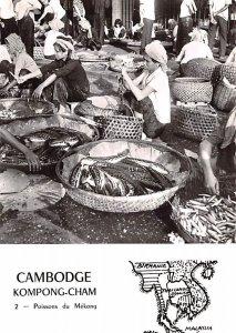 Poissons du Mekong Kompong Cham Cambodia, Cambodge Unused