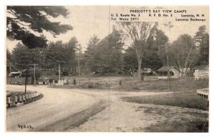 New Hampshire Laconia , Prescott's Bay View Camps