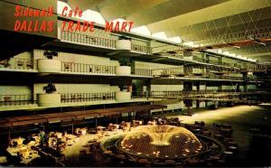 Texas Dallas Trade Mart Grand Courtyard Sidewalk Cafe