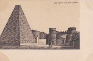 Italy Rome Piramide di Cajo Cestio