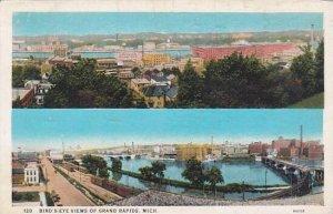 Michigan Grand Rapids Birds Eye Views Of Grand Rapids 1931