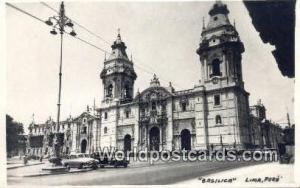 Lima, Peru Basilica  Basilica
