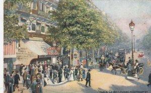 PARIS , France , 1907 ; Boulevard Montmarte ; TUCK Serie 934 P No 19