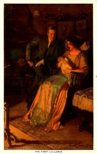 The First Lullabye.  Artist Signed: Alfred James Dewey