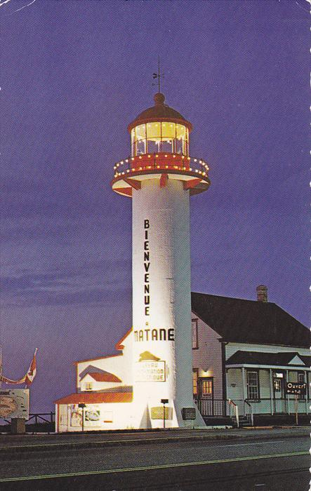 The Old Lighthouse Of Matane, Quebec, Canada, 1940-1960s