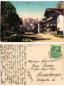 CPA Landro mit Monte Cristallo, Ampezzo, Tirol. ITALY (395097)