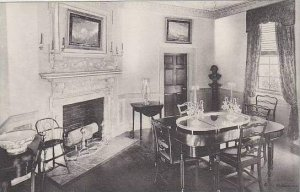 Virginia Mount Vernon The Family Dining Room Home Of George Washington Albertype