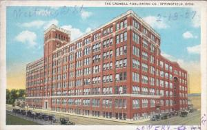 SPRINGFIELD, Ohio, 1900-1910's; The Crowell Publishing Co.