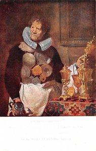 Abraham rapheus, Messenger of the Guild of St Luke by Corneille De Vis Antwer...