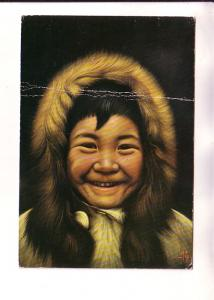 Little Children of the North, Inuit, Miguel Painting