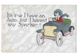 It's True I Have an Auto But I Haven't Any Sparker Humour