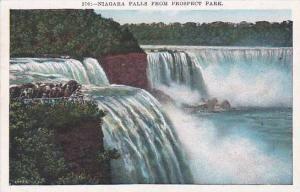 New York Niagara Falls From Prospect Park