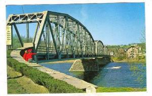 The Delaware River Bridge, Milford, New Jersey, 40-60s
