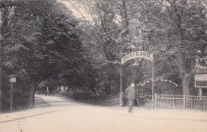 LEIPZIG, Saxony, Germany, 1900-1910´s; Parthie im Rosenthal