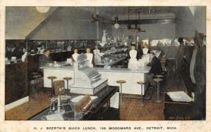 Detroit Michigan~Boerth's~NICE Cash Register~Candlestick Phone~Thingamajig* 1906